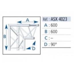 ANGLE ALU 390 2 DEPARTS...
