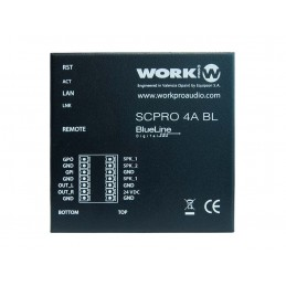 WORK SCPRO 4 A BT AMPLIFICATEUR 1x 40W@8 ohm