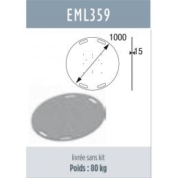 EMBASE ACIER pour SX390, SC...