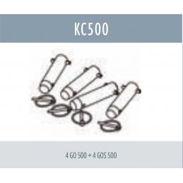 Kit de jonction pour structure SC 500 : 4 GO 500 + 4 GOS 500