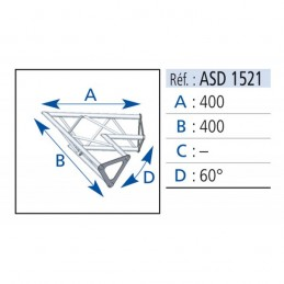 ANGLE 2D 60° SECTION 150...