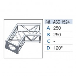 ANGLE 2D 120° SECTION 150...