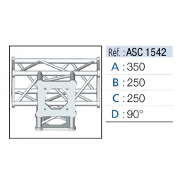 ANGLE 4D 90° SECTION 150...