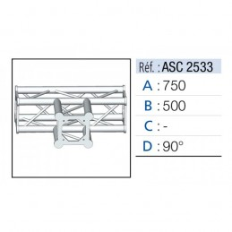 ANGLE 3D 90° SECTION 250...