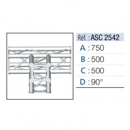 ANGLE 4D 90° SECTION 250...