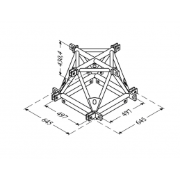Angle 4D structure alu 500...