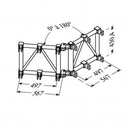 Angle variable : tubes de...