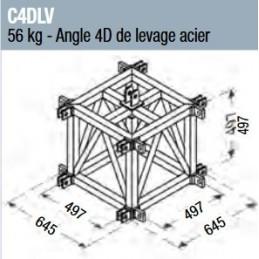 Angle 4D de levage acier...