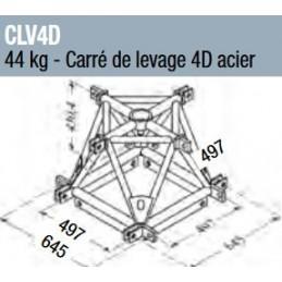 Carre de levage 4D acier...