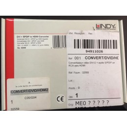 LINDY  CONVERT DVI/HDMI