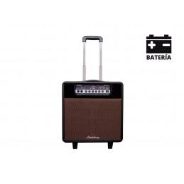 MARKTINEZ MGB 150 USB BAT AMPLI  GUITARE/BASSE BLUETOOTH FX 15W AVEC BATTERIE