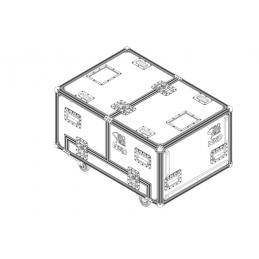 Flight case pour 3 x GEOM12