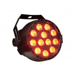 AMS PAR 36 BU MINI PAR A LED 12X3W RGB ( 3en-1)