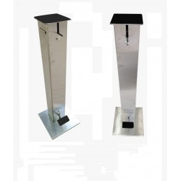 Borne Gel Hydroalcoolique INOX