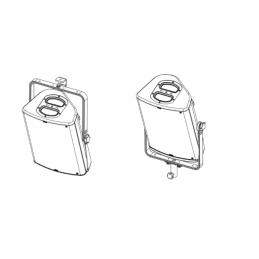 VERTICAL BRACKET FOR P10 WHITE